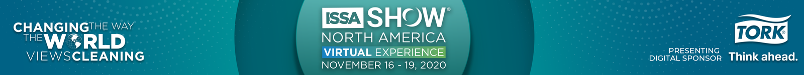 ISSA Show North America Virtual Experience logo